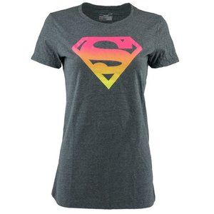 Under Armour Superwoman Logo Tshirt sz S